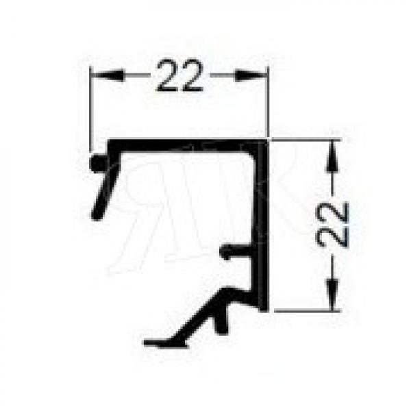 Алюминиевый штапик 22 Schuco 184050