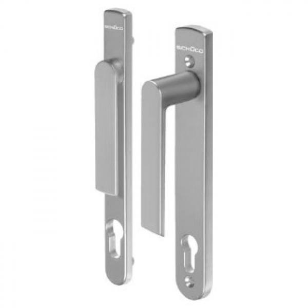 Ручка дверная нажимная  H/FL Schuco 247215
