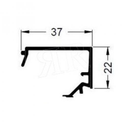 Алюминиевый штапик 37 Schuco 184080