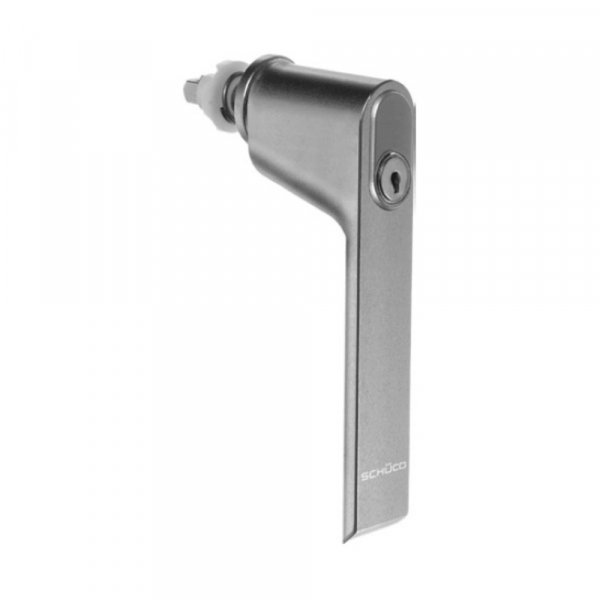 Ручка с замком  цвет: RAL 9010 - «слоновая кость» Schuco 247035
